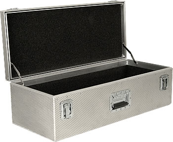 Rigidized aluminum Shipping Case